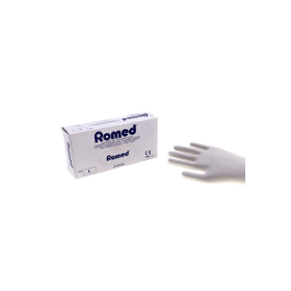 ROMED handschoen vinyl niet steriel gepoederd L (100 stuks)