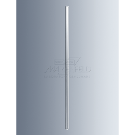 Roerstaaf zacht glas 250x7/8 mm