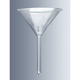 Trechter glas 200 mm