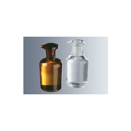 Druppelfles TK bruin glas, platte stop, 50 ml