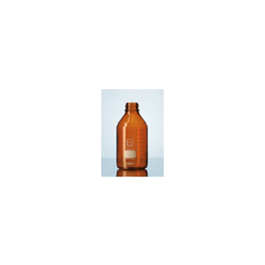 Laboratoriumfles DURAN bruin glas zonder dop 100 ml GL 45