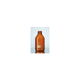 Laboratoriumfles DURAN bruin glas zonder dop 500 ml GL 45