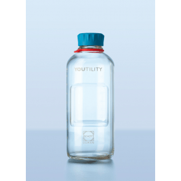 DURAN YOUTILITY fles helder glas 250 ml GL 45 (4 stuks)