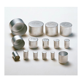 Cultuurbuiskap ALU-STECK binnendiameter 32 mm; hoogte 30 mm (100 stuks)
