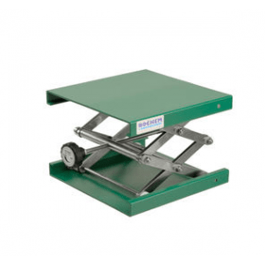 Labolift poedercoating (groen) 16 x 13 cm hoogte 60-275 mm