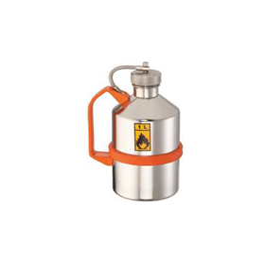 Veiligheidskan RVS met schroefdop 1 liter