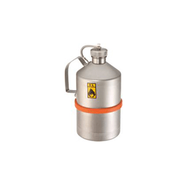 Veiligheidstransportkan RVS met schroefdop 5 liter