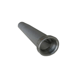 Adapter-vlamscherm RVS 2''