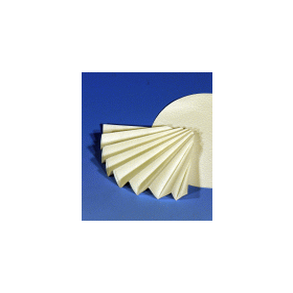 Vouwfilter MN 1672 1/4 d 400 mm (100 stuks)
