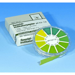 Speciaal indicatorpapier pH 4.0-7.0 (rol)