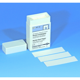 Testpapier kwalitatief NICKEL (200 strips)