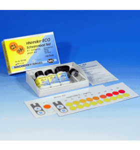Macherey-Nagel VISOCOLOR ECO test kit Zwembad 0,1-2,0 mg/l Chloor; pH 6,9-8,2 150 bepalingen