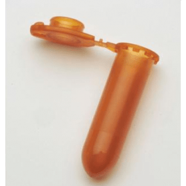 Eppendorf Epje met safe-lock (bruin 2.0ml)