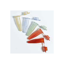 BRAND microcentrifugebuisje kunststof gekleurd  (PP, geel) 1.5 ml met dekseltje (500 stuks)