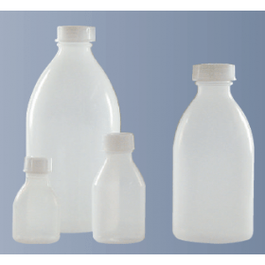 Fles kunststof (ZPE) nauwmonds 10 ml zonder dop