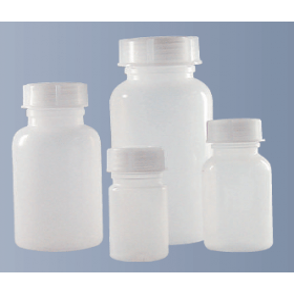 Fles kunststof (ZPE) wijdmonds 2 liter zonder dop