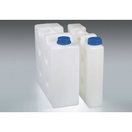 Jerrycan kunststof (PP) compact, met schroefdop, zonder schroefaansluiting; 5 liter