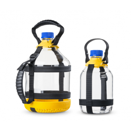 DURAN GL 45 flesdraagsysteem voor 2 liter fles, PP, purper