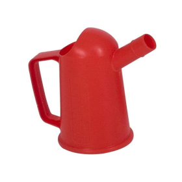 Oliemaatkan kunststof (PP, rood) 500 ml