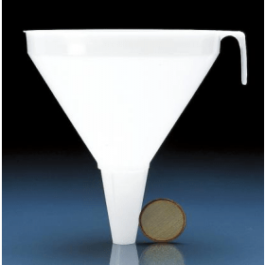 Trechter kunststof (PP) vloeistof 20 cm