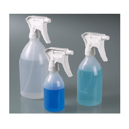 Plastic fles LDPE met verstuiver, 500 ml
