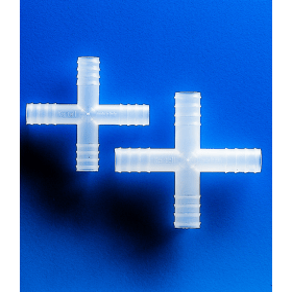 Verbindingsstuk kunststof (PP) kruismodel 6-2.7 mm