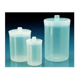 Weegfles kunststof (PP) hxd 50x30 mm 30 ml