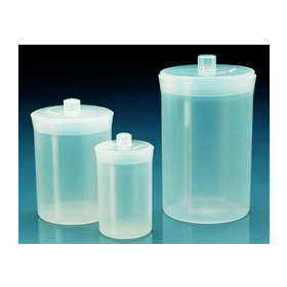 Weegfles kunststof (PP) hxd 90x60 mm 190 ml