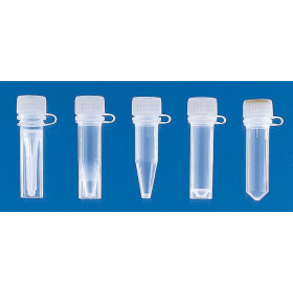 Centrifugebuis kunststof (PP) micro 2 ml starand met aanhangende schroefdop (PE) (1000 stuks)