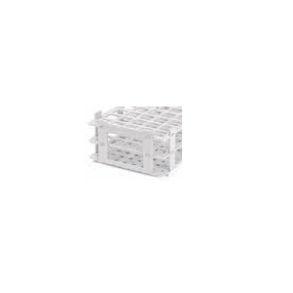 BRAND reageerbuisrek kunststof (PP) 5 x 11 posities voor buis tot 18 mm, wit