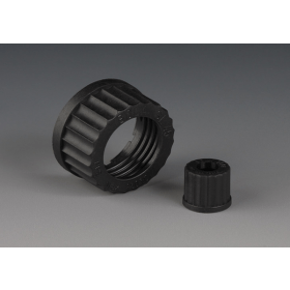 BOLA schroefdop kunststof (PPS) GL 14 met gat 9.2 mm