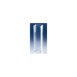Cuvet kunststof (PS) 10x10x45 mm 2x venster (100 stuks)