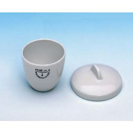 Smeltkroes porselein middelhoge vorm dxh 50x40 mm 50 ml type 79MF-6a