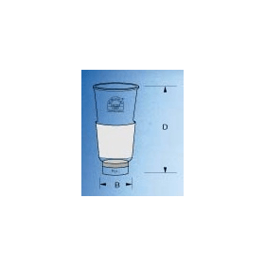 Goochfilterkroes 30 ml KNS 29/32 P1