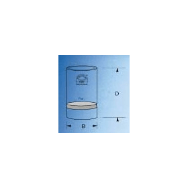 Kroes ruwe celstof 30 ml d 30 mm P0