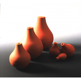 Pipetteerballon peervorm ca 224-245 ml diameter 84 mm