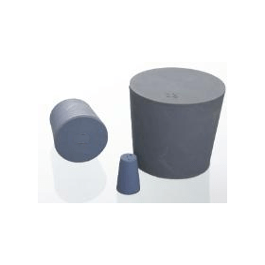 Stop rubber grijs/blauw 14x17x21 mm (verpakking 25 stuks)