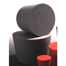 Stop rubber massief 23x29x30 mm