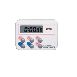 Timer elektronisch digitaal down/up tot 24 uur met klok en stopwatch S567 950 (E920 630)