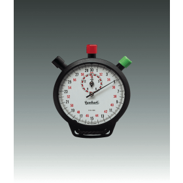 Stopwatch Amigo zwart 15 min 1/10 sec
