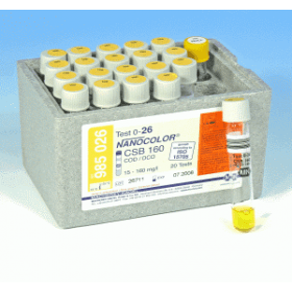 Macherey-Nagel NANOCOLOR COD 15-160 mg/l 20 bepalingen