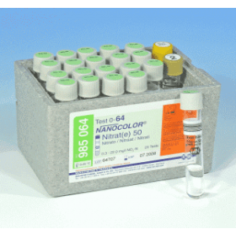 Macherey-Nagel NANOCOLOR Nitraat 0.3-22.0 mg/l 20 bepalingen