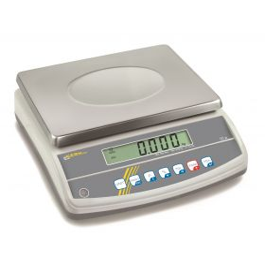 KERN winkelweegschaal GAB 6K1DNM twee bereiken 3 kg aflezing 1 g, 6 kg aflezing 2 g