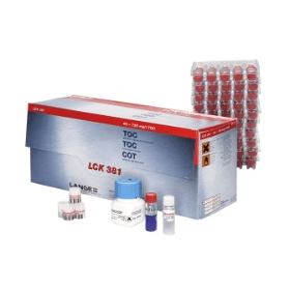 DR LANGE T.O.C. verschilmeting  60-735 mg/l (25 bepalingen)