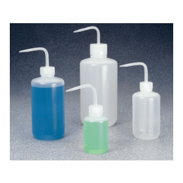 NALGENE spuitfles kunststof (ZPE) nauwmonds; 250 ml (verpakking 6 stuks)
